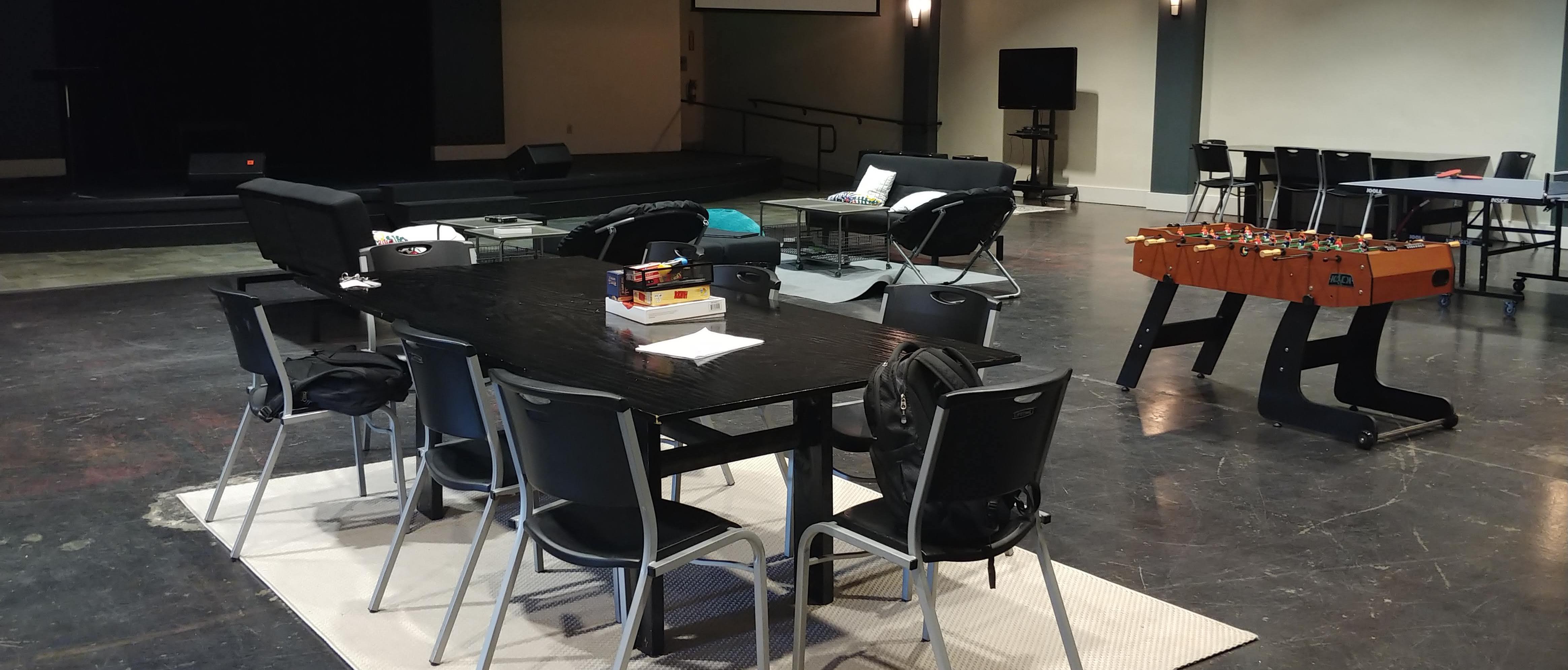 Sacramento Youth Centers Layout